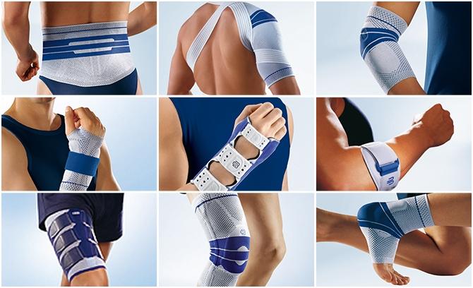 Bandagen und Orthesen